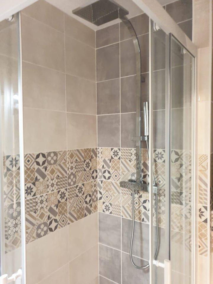 Rénovation de salle de bain à Luchon